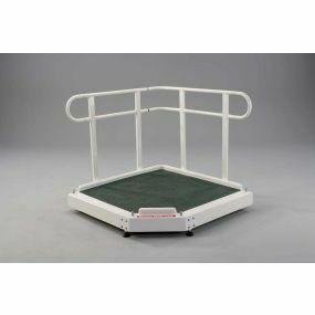 Fiberglass Adjustable Height Platform - 91cm