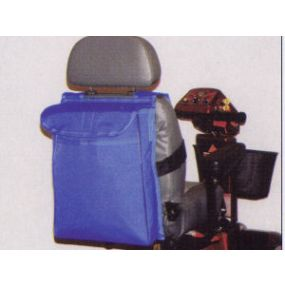 Deluxe Scooter Saddle Bag - Blue