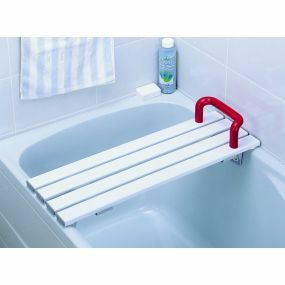 Slatted Bath Board With Handle - 27