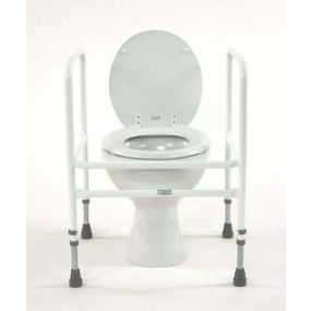 Free Standing Adjustable Toilet Surround
