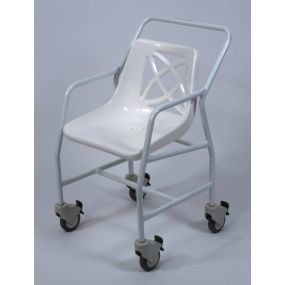 Standard Mobile Shower Chair - Adjustable Height
