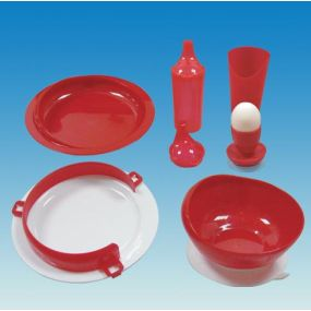 Standard Tableware Set - Red