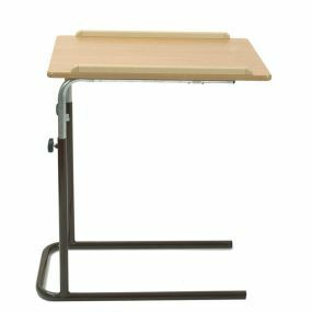 Single Top Overbed Table - Static (Brown)