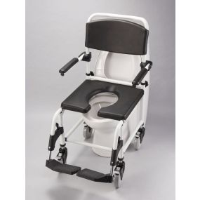 The Shower Commode Chair - Attendant