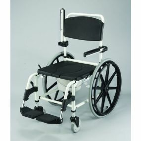 The Shower Commode Chair - Self Propelled