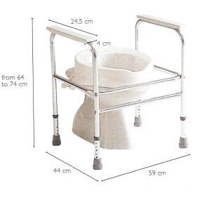 Invacare - Adeo Toilet Frame