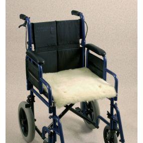Wheelchair Seat Fleece Cover