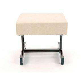Wide Footstool (Cream)
