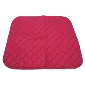 Absorbent Seat Pad - Burgundy