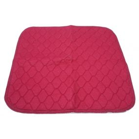 Absorbent Seat Pad - Large - Burgundy