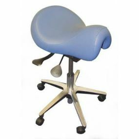 Adjustable Height Tabouret Stool - Saddle Top