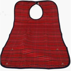 Everyday Adult Bib - Large (Red)