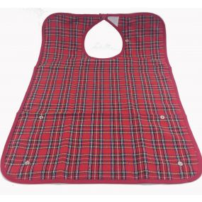 Adult Bib - Medium - Red