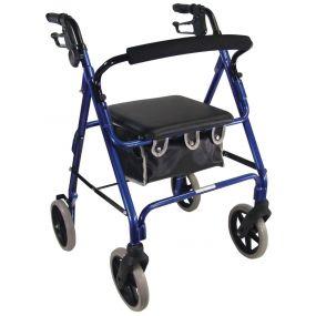 Aidapt Lightweight Rollator - Blue