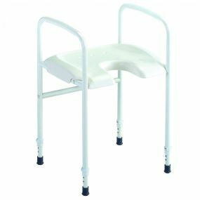 Alize Height Adjustable Shower Stool With Arms