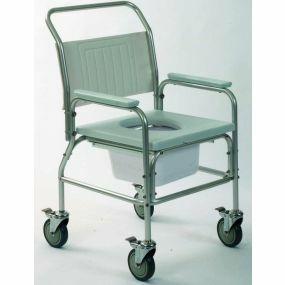 Aluminium Commode / Shower Chair