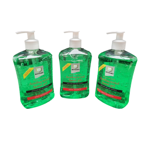 Antibacterial Hand Gel 500ml Pump Bottle - Triple Pack
