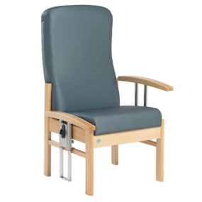 Apollo High Back Chair with Drop Arms