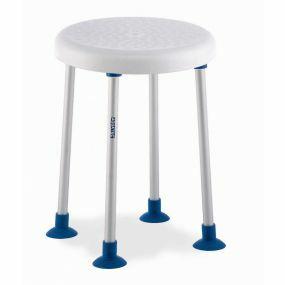 Aquatec Dot Round Shower Stool - 50cm (20