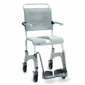 Aquatec Ocean Shower Commode Chair - Attendant