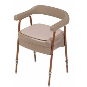 Ashby Commode Chair - Oatmeal