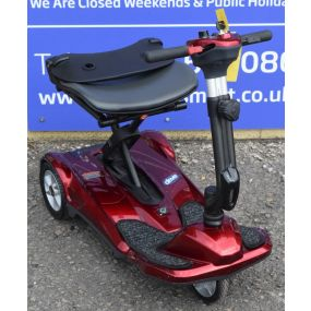 Red Folding Lightweight Mobility Scooter **Used**