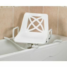 Aluminium Swivelling Bath Seat - 28 Inch