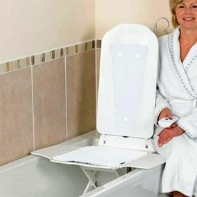 Bathmaster Deltis Bath Lift with White Covers