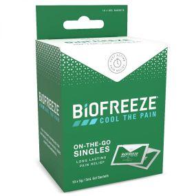 Biofreeze Pain Relief Gel - 10 x 5ml Sachets