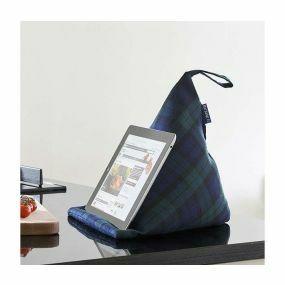 Blue Badge Tablet Cushion- Blackwatch