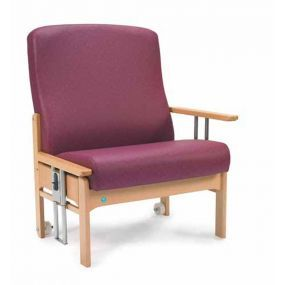 The Whittle Bariatric  Heavy Duty Chair With Drop Arms