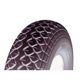 Cheng Shin - Solid Black Tyre (Pattern Block C154) - 400 X 5 (330 X 100)