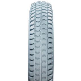 Cheng Shin - Solid / Puncture Proof Grey Tyre (Pattern Block C248) - 300 X 4 (260 X 85)