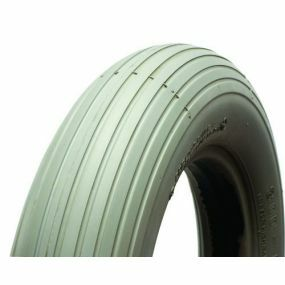 Cheng Shin Solid / Puncture Proof Grey Tyre (Rib Pattern C179) - 300 X 4 (260 X 85)