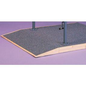 Westminster Parallel Bars - Carpet Base 720 x 120cm