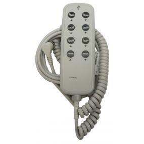 Casa Bed - 8 Button Hand Set (IPROX 2) (Dewert Code 72869)
