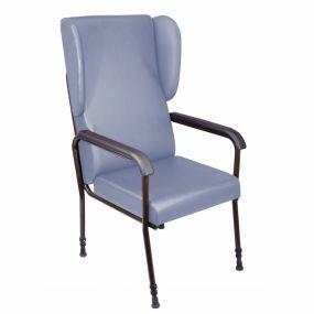 High Back Chair - Blue