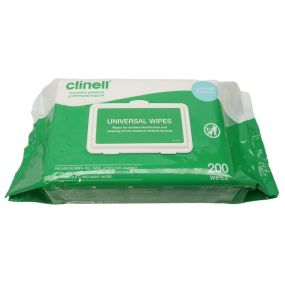 Clinell Universal Wipes (200 Pack)