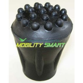 Pipped Ferrules (C Type) - Black, Size 12mm (1/2 inch)