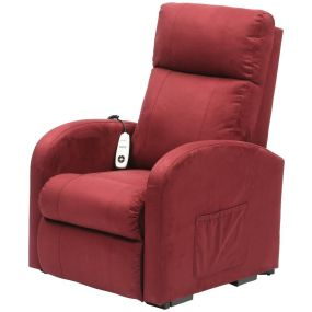 Single Motor Riser Recliner - Suedette