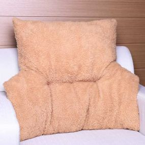 Deluxe Fleece Backrest - Taupe