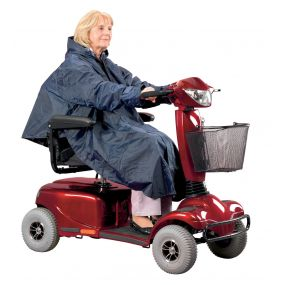 Lined Mobility Scooter Poncho