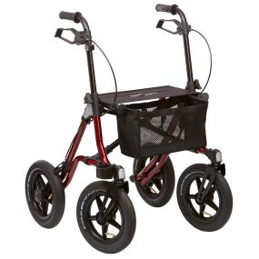 Ultra Lightweight Outdoor Rollator