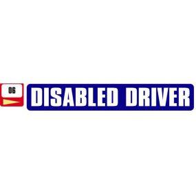 Sticker Haus Disabled Driver sticker no 6