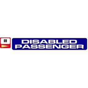 Sticker Haus Disabled Passenger sticker no 9