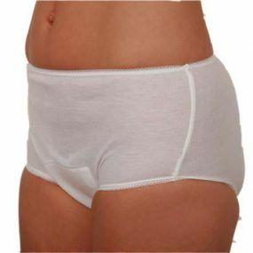Ladies Discreet Briefs XXX Large - (48-50) White