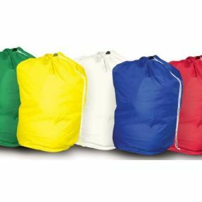 Drawstring Laundry Bag - Blue