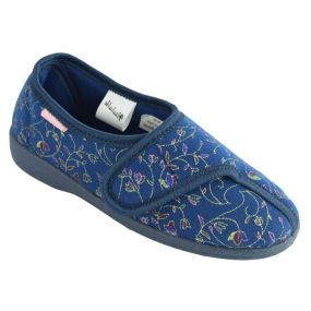 Dunlop Bluebell Ladies Slippers - Size 8 (Blue)