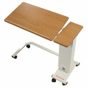 Easi-riser Overbed Table - Tilting Top & Wheelchair Base