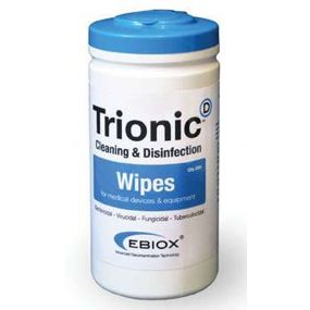 Ebiox Trionic Wipes - 200 Tub